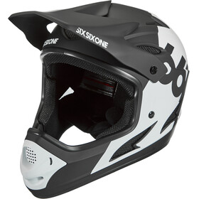 SixSixOne Comp Full-Face Helm white